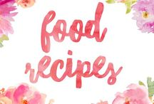 Food Recipes / Recipes for great looking food dishes