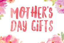 Mother's Day gifts / Gift idea and inspiration for Mother's Day