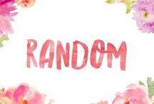 Random / A whole host of random things!
