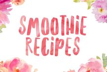 Smoothie Recipes / Recipes for great tasting smoothies