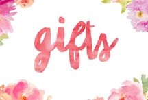 Gifts / Gift ideas and inspiration