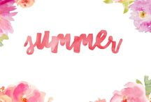 Summer / Inspiration for things to do in the summer