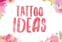 Tattoo ideas / Ideas and inspirations for women's tattoos