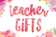 Teacher gifts / Gift ideas and inspiration to treat your child's class teacher