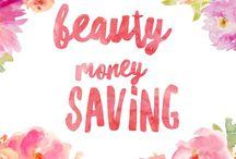 Beauty Money Saving / Ways to save money on beauty items