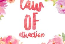 Law of Attraction / Information, advice and guidance on the law of attraction