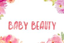 Baby Beauty / Using baby items for beauty bits!