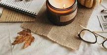[MOODBOARD] A U T U M N / Inspirations automnales : recettes, DIY, décorations, citrouilles...