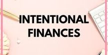 Intentional Finances / Budgeting and saving tips, ideas and resources to help you be more intentional with your money.  Financial Planning, Budget, Debt Free, Financial Freedom, Debt Free Snowball, Debt Free Worksheet, How to Get Financial Freedom, How to Be Debt Free, Living Debt Free, Lifestyle, Tips, Dave Ramsey, Debt Free Tracker, Ideas, Workbook, Saving Money, Frugal Living, Saving for Retirement, How to Save Money, Printables, Saving Money Hacks, Saving for Vacation.