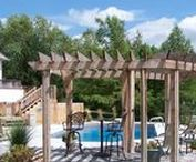 Arbors & Pergolas / We can construct your arbors and pergolas using many different materials and can match the appearance of your existing architecture or build upon a new theme. Let us build your arbor or pergola this season!