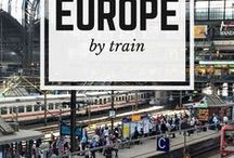 Travel Europe by Train / Travel Europe by Train from how to get your interrailing ticket, how to pick your countries in Europe by train, best interrailing route and countries and best trains to use your interrail pass on.