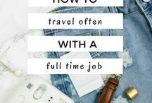 How To Travel With A Full Time Job / How To Travel With A Full-Time Job | How to travel with a 9 to 5 job | Travel advice for people with a full-time job
