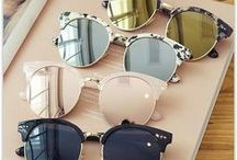 Sunglasses I Love!!! / All beautiful sunglasses to look cool and classy even after a long haul flight or a rough night. The best sunglasses for travel | Travel Sunglasses | Summer Sunglasses