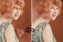 Foto's retoucheren / Voorbeelden van fotorestauratie via ImageClass