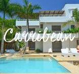 Destination Caribbean / les Caraïbes / Our selection of villas in St Barth & Cartagena, and beautiful pictures of beaches...  Réservez vos vacances à Carthagène et St Barth dans nos superbes villas.