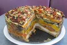 food to savor - veggie loaf & stacks... / some really tasty veggie loaf & stack ideas to try!