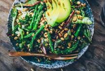 food to savor - salads... / some delicious looking salads to try!