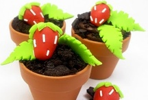 let's party - fun with food... / some fun ways to serve food - maybe for a party or to encourage kids to eat!