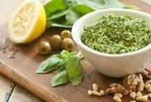 make - pesto, hummus & dip... / some recipes for different types of dip, pesto & hummus :)