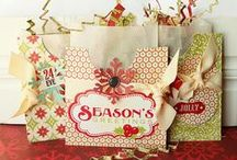 christmas joy - bags, boxes & wrapping ideas...