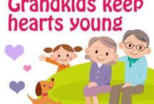 Joy of being  grandparents! / Grand kids / by Penny Lotterhos
