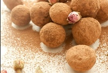 desserts - roll a truffle or log... / yummy recipes for all different types of truffles, fruit balls and sweet logs!