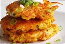 food to savor - fritters & burgers... / some really tasty fritter & burger recipes to try one day!