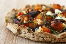 food to savor - pizza & pie... / lots of pizza & pie recipes to try one day!