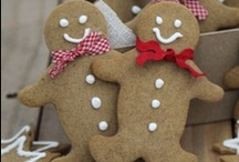 bake - some gingerbread... / ideas for baking with gingerbread - especially for Christmas!