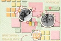 Digiscrap - layout with my products