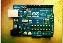 Arduino / Open-source electronic prototyping platform allowing to create interactive electronic objects.