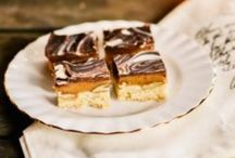 traybakes + bars / things baked in a big square pan / by Kathryn / London Bakes