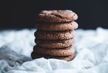 ginger + spiced cookies / sugar and spice and all things nice (in cookie form)