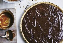 pie + tart (chocolate) / by Kathryn / London Bakes