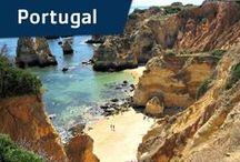 Vacansoleil - Portugal / Vakantieland van de fado, prachtige stranden en cultuurschatten. Op vakantie naar de camping in Portugal wordt met het jaar populairder, en dat is logisch. Er is immers meer dan genoeg te zien en te beleven. Prachtige stranden en adembenemende kliffen aan de Algarve en indrukwekkende excursies in en rondom de steden Lissabon en Porto.  / by Vacansoleil Camping Holidays