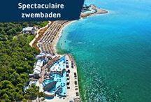 Vacansoleil - Spectaculaire zwembaden / Zie hier de meest spectaculaire zwembaden op onze prachtige campings in Europa. Van wildwaterbanen tot glijbanen met complete loopings erin. Hoe harder en hoger, hoe beter! / by Vacansoleil Camping Holidays