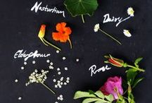 cooking with flowers...