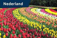 Vacansoleil - Nederland / Klederdrachten, Delfts blauw, fietsen langs windmolens, bloembollenvelden en  polderlandschappen... allemaal dingen die een vakantie op de camping in Nederland rechtvaardigen. Hoewel een van de dichtstbevolkte landen ter wereld, is Nederland vooral bekend om z'n unieke vergezichten met wolkenluchten die de schilders uit de Hollandse School zo beroemd maakten.  / by Vacansoleil Camping Holidays