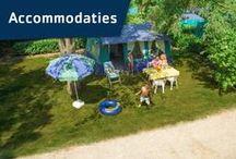 Vacansoleil - Accommodaties / Welke accommodatie je ook kiest: je kampeert altijd met de luxe die je van thuis gewend bent. Lekkere, echte bedden, een keuken en –in een stacaravan- een eigen douche en toilet. / by Vacansoleil Camping Holidays