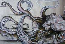squid inspiration / by Suzy Stelmaszek