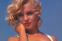 Marilyn Monroe / There are endless pictures of Marilyn. This could be filled endlessly.