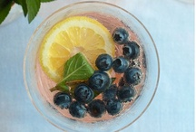 Beverage Recipes / Wild Blueberries are a perfect additional to a mocktail or a cocktail. Add a special flavor to your beverage!