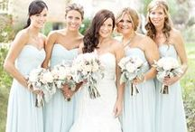 Wedding bridesmaids | Metalicious / Dresses and jewelry for your bridesmaids.