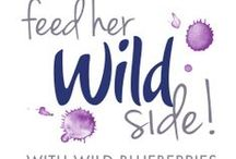 Feed Her Wild Side Giveaway / This Mother's Day, lose the lillies and feed Mom's wild side with gifts and recipes from our Feed Her Wild Side Sweepstakes! / by WildBlueberries