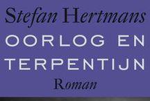 Oorlog & Terpentijn / Moodboard voor leesclubsessie over Stefan Hertmans' Oorlog & Terpentijn.