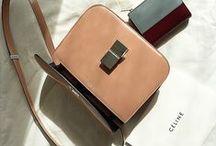 bags. / purse + backpacks + clutches + satchels