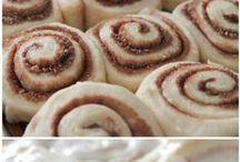 Cinnamon rolls... my fave! / Cinnamon Rolls...  / by Jessica Cox