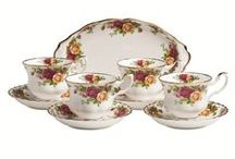Spot of Tea and Royal Albert / Tea time love... a new fad I'm into! Loving it! / by Jessica Cox