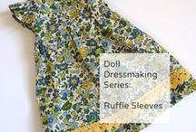 Doll dressmaking Patterns