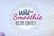 Contest: #WildYourSmoothie 2016 / Check out the 2016 #WildYourSmoothie entries we received.   Did you know that prime smoothie time is actually during the winter months? According to Google trends, smoothie recipe searches peak in January and remains elevated through March.